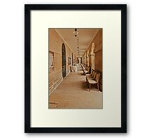 The Corridor Framed Print