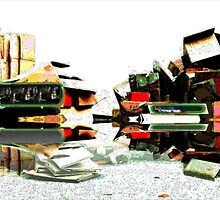Cardboard Skyline by johnslipimages