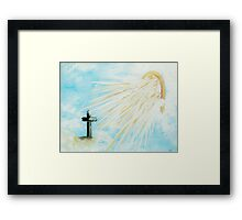 It's Impossible to Outgive God Framed Print