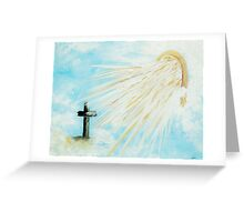 It's Impossible to Outgive God Greeting Card