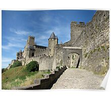 The Castle Ramparts Carcassonne 2 Poster