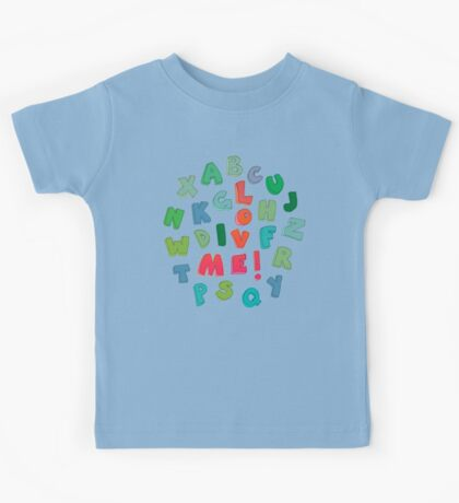 Love Me! alphabet tee Kids Tee