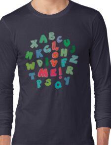 Love Me! alphabet tee Long Sleeve T-Shirt