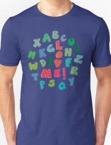 Love Me! alphabet tee Unisex T-Shirt