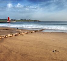 South Shields Beach by Great North Views