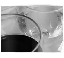white-red wine Poster