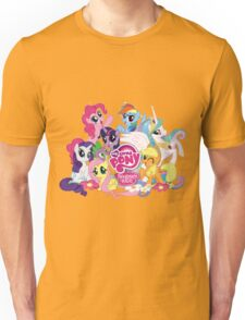My Little Pony Mane6 and Logo Unisex T-Shirt