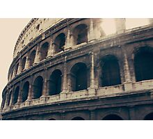 The Roman Colosseum Photographic Print