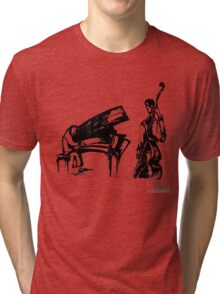 Lunch Music Tri-blend T-Shirt