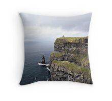 Cliffs Throw Pillow