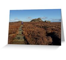 On Barden Fell - Wharfedale Greeting Card