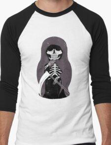 Russian Death Doll Men's Baseball ¾ T-Shirt