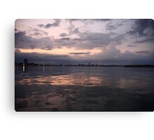Milwaukee Horizon Cityscape  Canvas Print