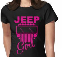 Jeep Girls  Womens Fitted T-Shirt