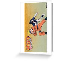 naruto shippuden season 1 Greeting Card