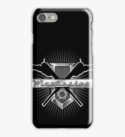 Winchester - No Blood Version iPhone Case/Skin