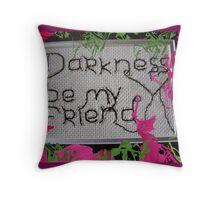 Friend Req Throw Pillow