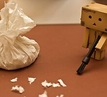 Danbo cleans up by the-sandman