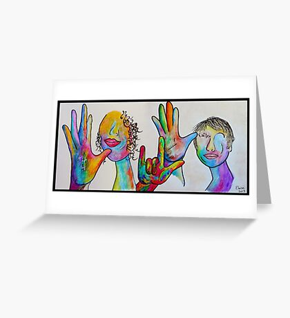 Mother and Father I LOVE YOU Greeting Card
