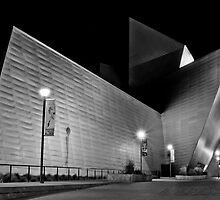 Denver Art Museum at Night by JRRouse