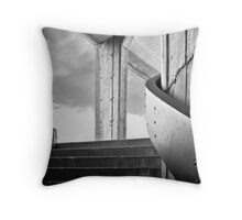 Up and to the Right Throw Pillow
