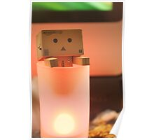 Danbo tries to have a hot bath Poster