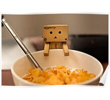 Danbo is hungry Poster
