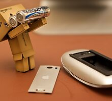 Danbo helps me get my magic mouse up and running by the-sandman