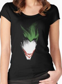 The Dark Joker Women's Fitted Scoop T-Shirt