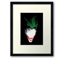 The Dark Joker Framed Print