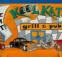 Old Town Street Art by Debbie Robbins