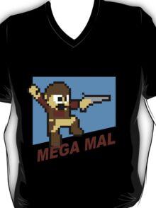 (MegaMan Firefly) Mega Mal Reynolds Shirt 8-bit T-Shirt