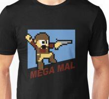 (MegaMan Firefly) Mega Mal Reynolds Shirt 8-bit Unisex T-Shirt