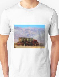MULE TRAIN ~ DEATH VALLEY T-Shirt