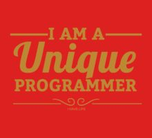 programmer : i am a unique programmer One Piece - Long Sleeve