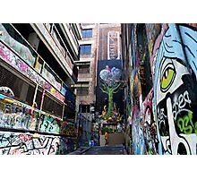 Graffiti  Hosier Lane Melbourne Photographic Print