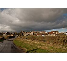 Storm Clouds Come Rolling In.. Photographic Print