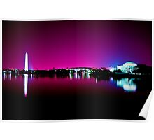 Monumental Reflection Poster