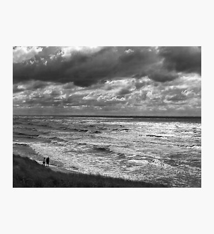 Stormy Stroll Photographic Print