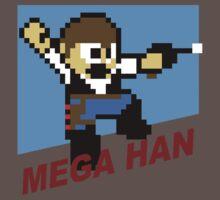 (MegaMan Shirt) Mega Han Shirt 8-bit Kids Clothes