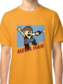 (MegaMan Shirt) Mega Han Shirt 8-bit Classic T-Shirt