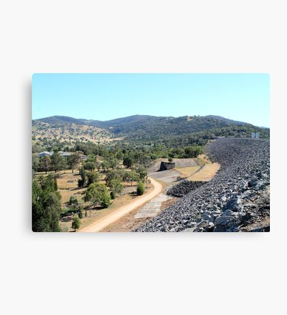 Wyangala Village NSW Canvas Print