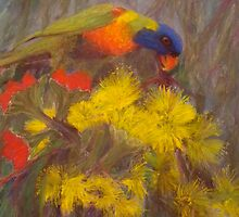 Rainbow Lorikeet  by Kay Cunningham