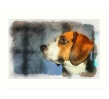 A Portrait Of Jethro.  Art Print