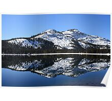 Donner Lake Reflection Poster