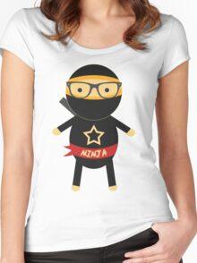 I'm a ninja Women's Fitted Scoop T-Shirt