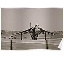 Harrier jump jet Poster