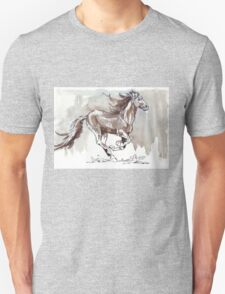 A handful of Southerly wind ... Wild horses in South Africa T-Shirt