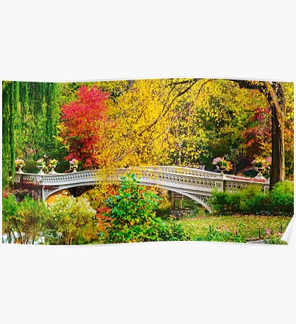 Autumn in Central Park, Study 1 Poster