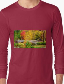 Autumn in Central Park, Study 1 Long Sleeve T-Shirt